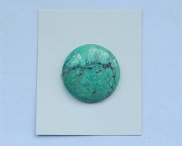 38.75ct Natural Round Turquoise Cabochon For Jewelry Making(18031402)