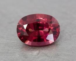 Pinkish red mahenge garnet