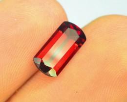 1.85 ct Natural Laser Cut Red Rhodolite Garnet