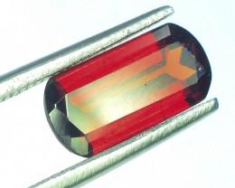 1.75 ct Natural Laser Cut Red Rhodolite Garnet