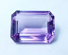 21cts NATURAL INTERNALLY FLAWLESS BIG SIZE AMETHYST GEMSTONE FROM BRAZIL