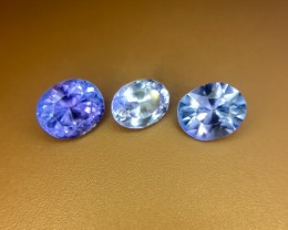 1.95 Crt Natural Tanzanite Lot Faceted Gemstone (R 151)