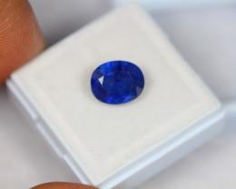 4.41Ct Natural Ceylon Blue Sapphire  Cut Lot LZ330