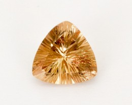 2.05ct Champagne Concave Triangle Sunstone (S2538)
