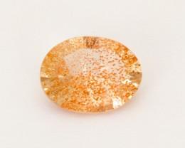 1.05ct Champagne Concave Oval Sunstone (S2540)