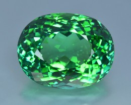 25.18 Cts Amazing Color Mesmerizing Top Green Fine Stone Natural Tourmaline