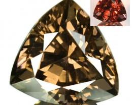 1.66 Cts Natural Color Change Garnet Trillion Tanzania