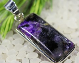 Beautiful natural Russian Charolite Pendant SU681