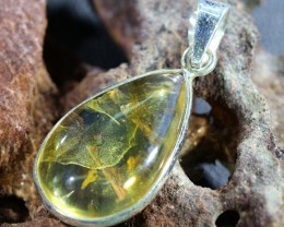 Beautiful natural Cabochon Citrine Pendant SU1000
