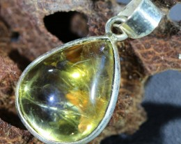 Beautiful natural Cabochon Citrine Pendant SU1001