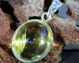 Beautiful natural Cabochon Citrine Pendant SU1002