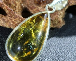 Beautiful natural Cabochon Citrine Pendant SU1005