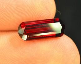 2.55 ct Natural Laser Cut Red Rhodolite Garnet