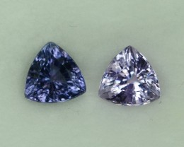 2.093 Cts Marvelous Madagascar Lavender Spinel Pair