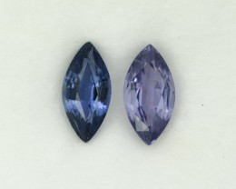 2.581 Cts Appealing Madagascar Lavender Spinel Pair