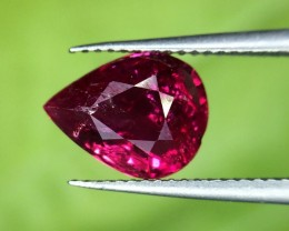 1.03 Crt Gil Certified Natural Red Ruby Faceted Gemstone