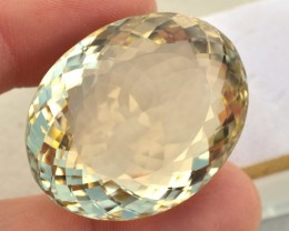 150.00 Carat Oval Cut Lemon Quartz