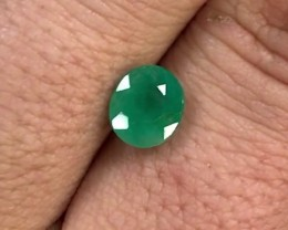 1.60 cts Colombian Emerald ~ High Quality ~ Light Oil ~ Earth Mined