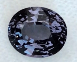 2.32ct Greyish  Blue Oval Spinel - Burma - REF17 H617
