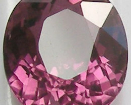 SIMPLY ELEGANT - INTENSE PINK 1.71CT TOURMALINE OVAL!