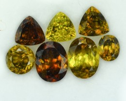 14.81 Cts Superb Madagascar Sphene Parcel