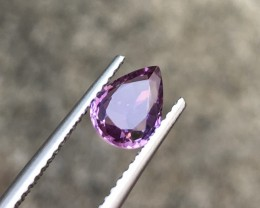 1.42CTS Certified Beautiful Violet Sapphire
