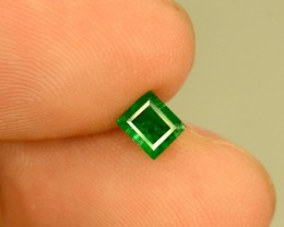 0.50 carats Rare ~ Swat Clean Deep Color Emerlad gemstone from Pakistan