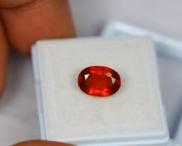 3.09ct Natural Orange Color Spessartite Garnet Round Cut Lot LZ347