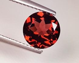 2.26 ct Lovely Pale Purplish Red Round Cut Natural Pyrope Almandite Garnet