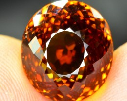 GIL certified 9.95 cts marvelous luster brownish orange natural MALI GARNET