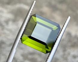 8.40CTS Stunning VVS Light Greenish Tourmaline