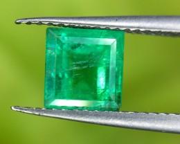 0.68 Crt Natural Panjshir Emerald Faceted Gemstone (964)
