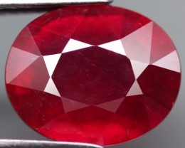 4.27 Cts Top Quality Blood Red Natural Ruby Mozambique Gem