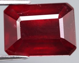 6.10 Cts. Top Quality  Blood Red Natural Ruby Madagascar Gem