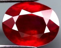 6.30 Cts. Top Quality  Blood Red Natural Ruby Madagascar Gem