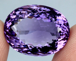 23.50 ct. 100% Natural Top Nice Purple Amethyst Unheated Brazil
