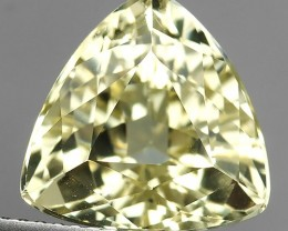 CERTIFIED 8.00 CTS BEAUTIFUL RARE NATURAL SPODUMENE YELLOW COLOR $599