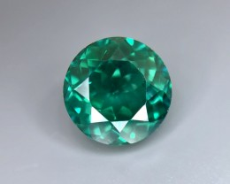 5.00 CT Natural Green Topaz  Beautiful Faceted Gemstone S32