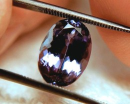 CERTIFIED - 5.7 Carat Purple/Blue VVS Tanzanite - Gorgeous