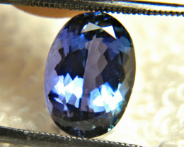 CERTIFIED - 5.7 Carat Purple/Blue VVS Tanzanite - Gorgeous