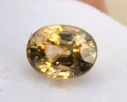 3.50 Carat Oval Cut Fine Yellow Zircon