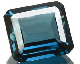 17.62 Cts Natural London Blue Topaz Octagon Brazil