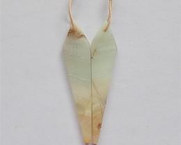 22ct Natural Amazonite Earring Pair(18032042)