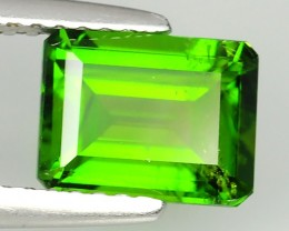 1.80 CTS NATURAL ULTRA RARE CHROME GREEN DIOPSIDE RUSSIA