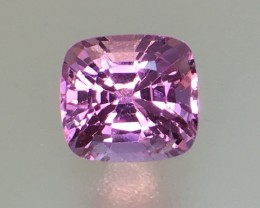 1.63 Cts Untreated Pinkish Purple Spinel Excellent Color ~ Burma Sa1