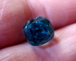 TOP QUALITY CERTIFIED BLUE ZIRCON 7.82cts...VVS+