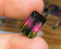 9.10 cts WATERMELON TOURMALINE GEMSTONE