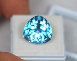 16.23Ct Natural Blue Topaz Trillion Cut Lot V1030