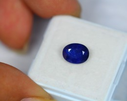 2.56Ct Natural Blue Sapphire Oval Cut Lot V1057