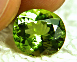 4.19 Carat VS Green Himalayan Peridot - Gorgeous